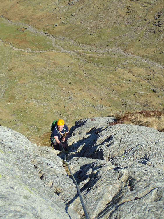 Jim on the last pitch of Corvus